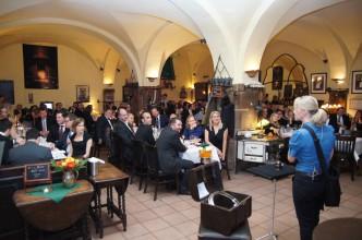Marion Metternich verzaubert die Gäste