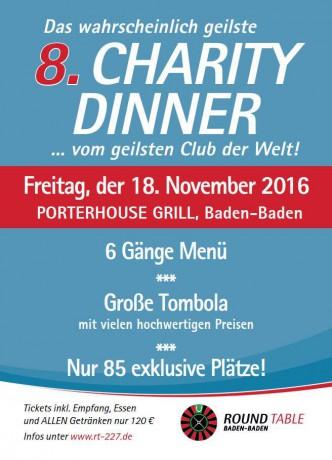 RT227 Charity Dinner 2016
